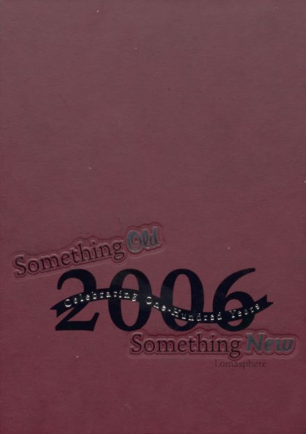 2006 Loma Linda Academy Yearbook Cover