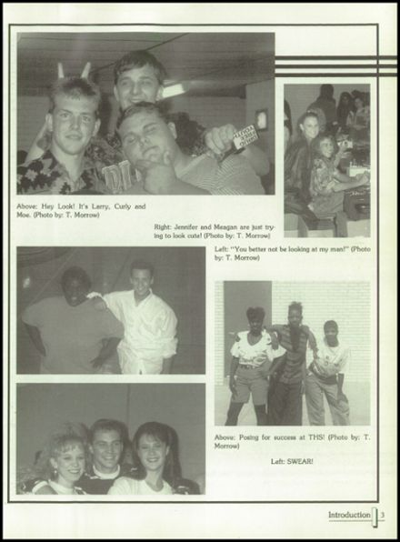 1994 Terrell High School Yearbook Page 7
