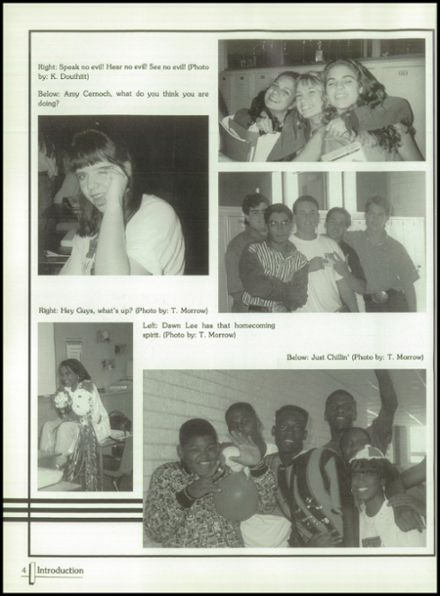 1994 Terrell High School Yearbook Page 8