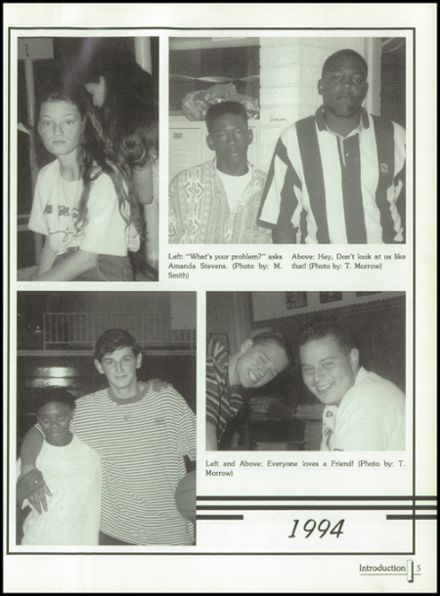1994 Terrell High School Yearbook Page 9