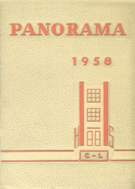 1958 Clarion-Limestone High School Yearbook Cover