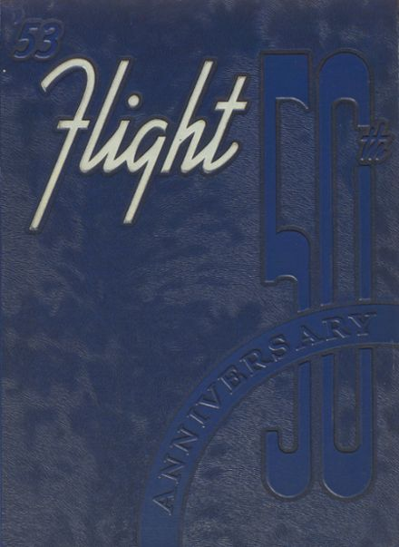 1953 St. Johns High School Yearbook Cover