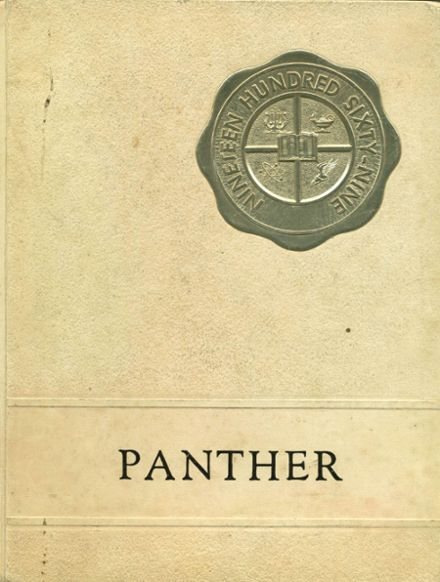 1969 Smiths Station High School Yearbook Cover