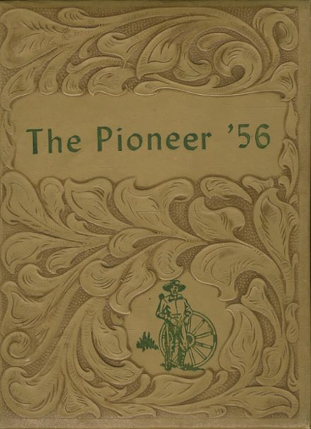 1956 Gentry High School Yearbook Cover