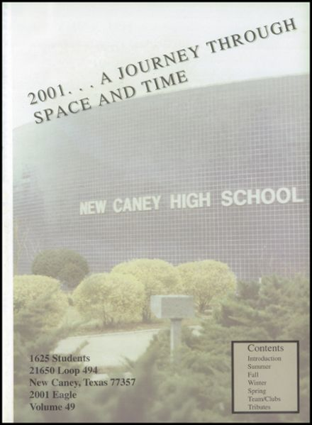 2001 New Caney High School Yearbook Page 5