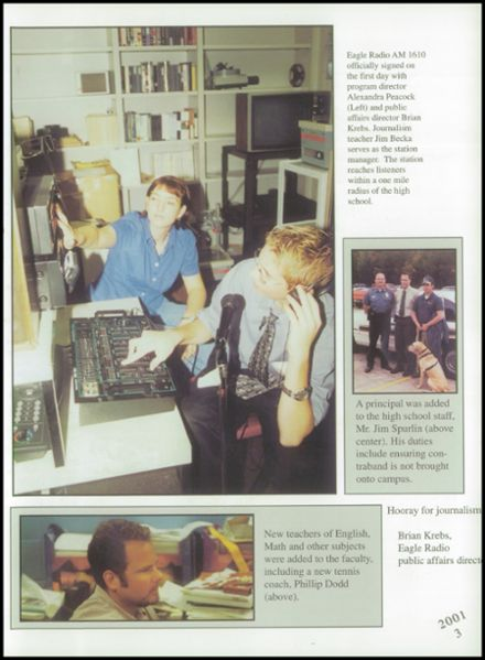 2001 New Caney High School Yearbook Page 7