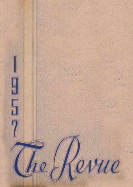 1957 Henderson City High School Yearbook Cover