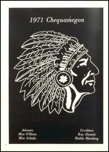 1971 Rib Lake High School Yearbook Page 6