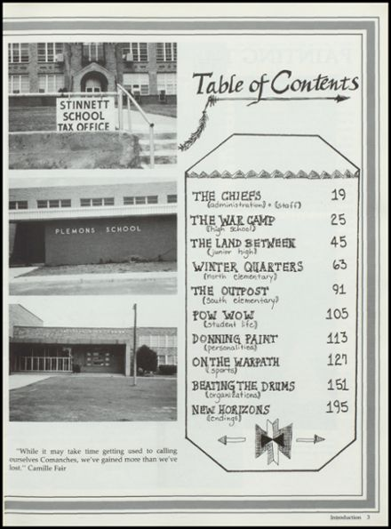 1988 West Texas High School Yearbook Page 7