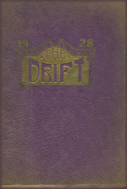 1928 Taylorville High School Yearbook Cover
