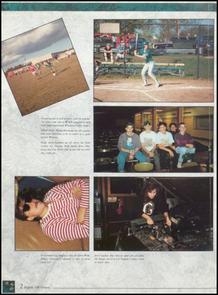 1992 Rhinelander High School Yearbook Page 6