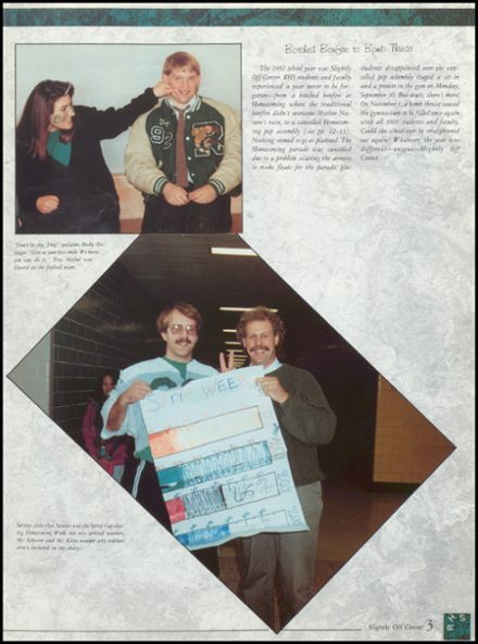 1992 Rhinelander High School Yearbook Page 7