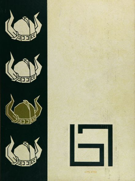 1967 Downey High School Yearbook Cover