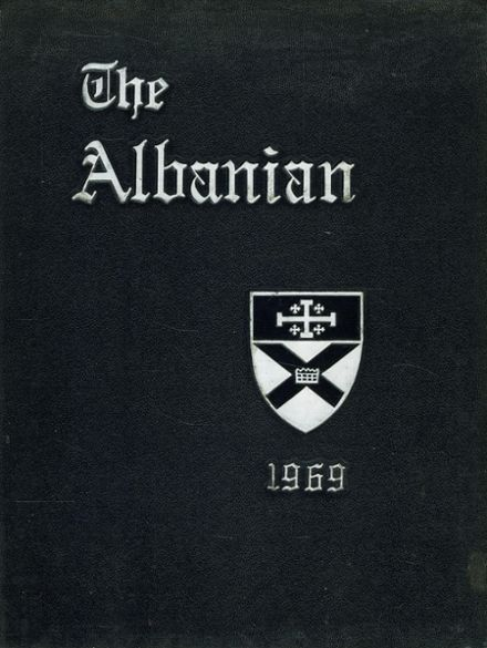 1969 St. Albans High School Yearbook Cover