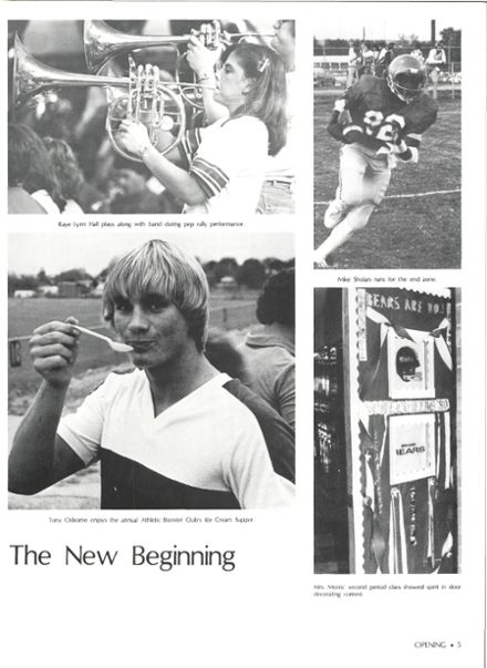 1981 Brewer High School Yearbook Page 9