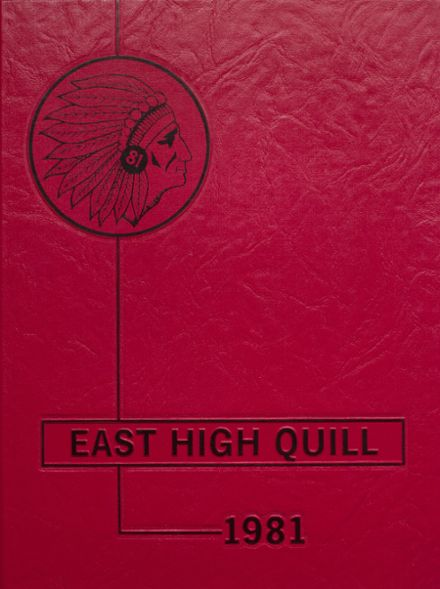 1981 East High School Yearbook Cover