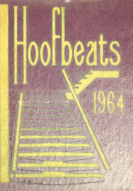 1964 Burges High School Yearbook Cover