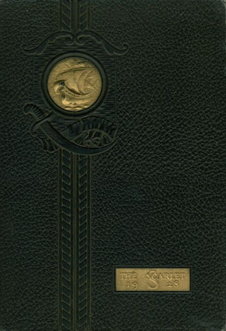 1928 Shelby High School Yearbook Cover