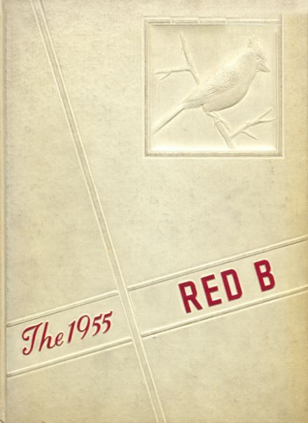 1955 Brodhead High School Yearbook Cover