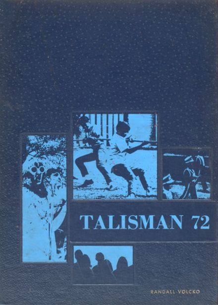 1972 Bolivar High School Yearbook Cover