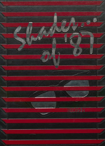 1987 Union High School Yearbook Cover