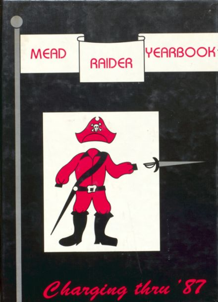 1987 Mead High School Yearbook Cover