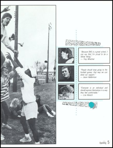 1989 Danville High School Yearbook Page 9