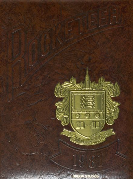1981 Southern Huntingdon County High School Yearbook Cover