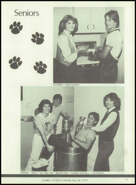 1983 Jet-Nash High School Yearbook Page 7