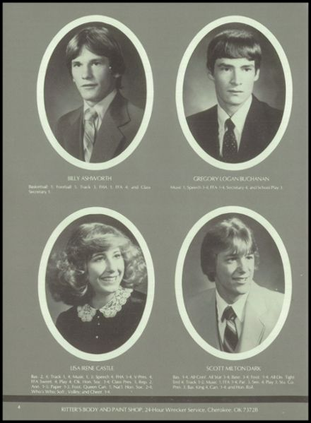 1983 Jet-Nash High School Yearbook Page 8