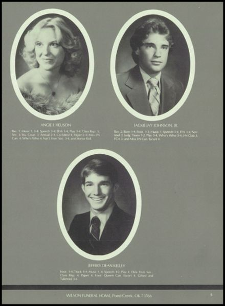 1983 Jet-Nash High School Yearbook Page 9