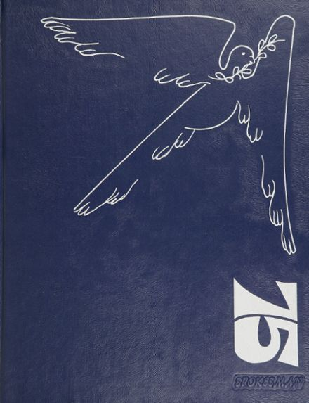 1975 Strong Vincent High School Yearbook Cover
