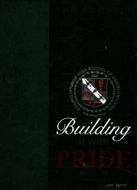 1996 Boiling Springs High School Yearbook Cover