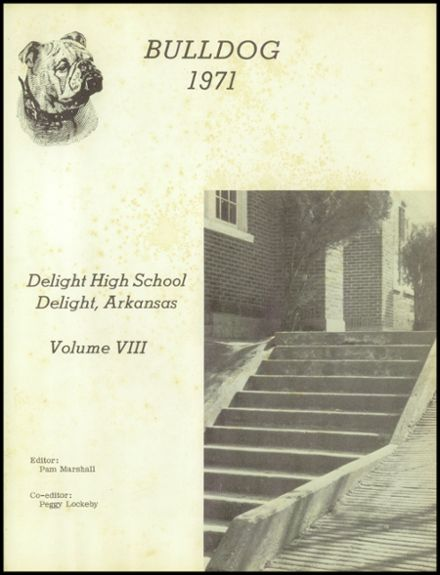 1971 Delight High School Yearbook Page 6