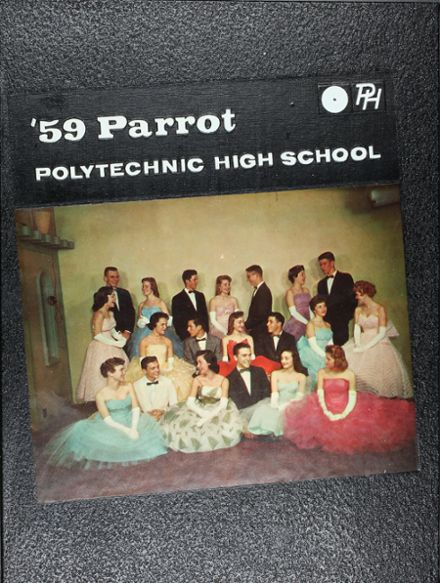 1959 Polytechnic High School Yearbook Cover