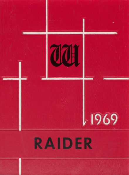 1969 Wagner Community High School Yearbook Cover