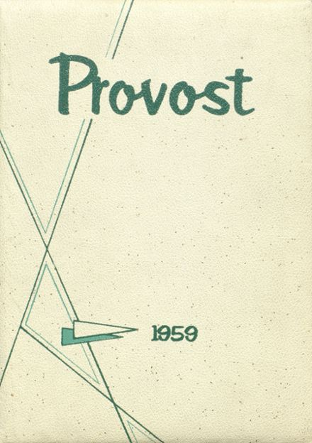 1959 Provo High School Yearbook Cover