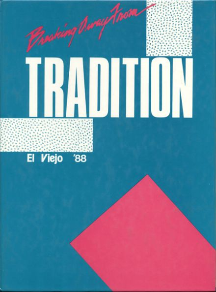 1988 Mission Viejo High School Yearbook Cover