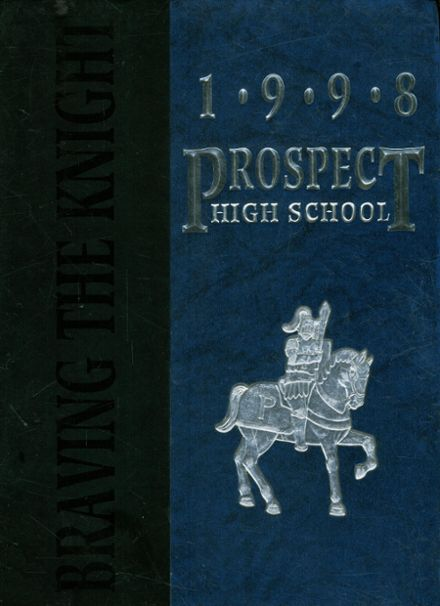 1998 Prospect High School Yearbook Cover