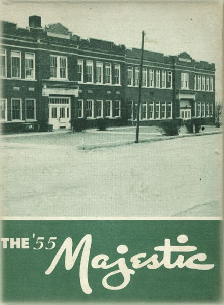 1955 Wayne Township School Yearbook Cover