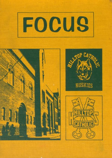 1974 Hilltop Catholic High School Yearbook Cover