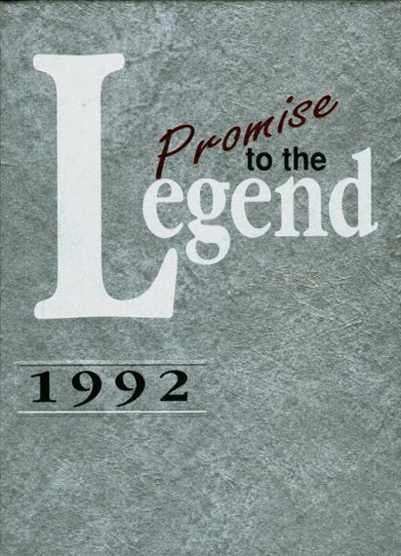 1992 West Snyder High School Yearbook Cover
