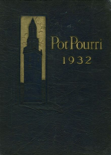 1932 Milford High School Yearbook Cover