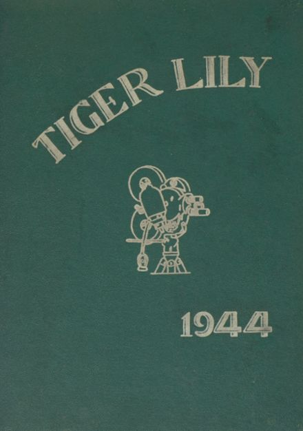 1944 Port Allegany High School Yearbook Cover