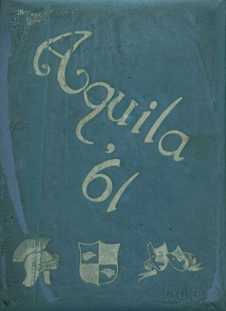 1961 Boulder City High School Yearbook Cover