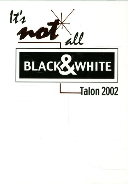 2002 Jefferson Area High School Yearbook Cover