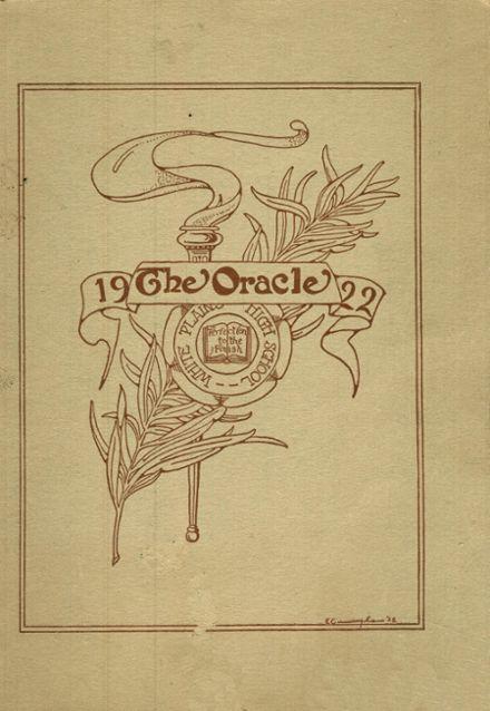 1922 White Plains High School Yearbook Cover
