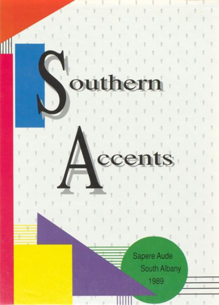 1989 South Albany High School Yearbook Cover