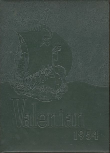 1954 Valparaiso High School Yearbook Cover
