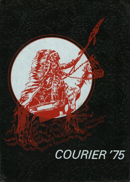 1975 Boise High School Yearbook Cover